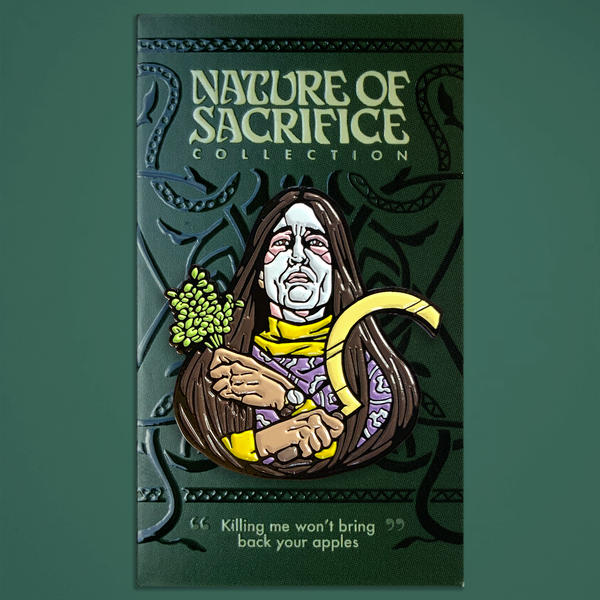 Nature of Sacrifice - Lord Summerisle Enamel Pin