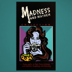 "Madness and Mayhem - ""Anna"" Enamel Pin"