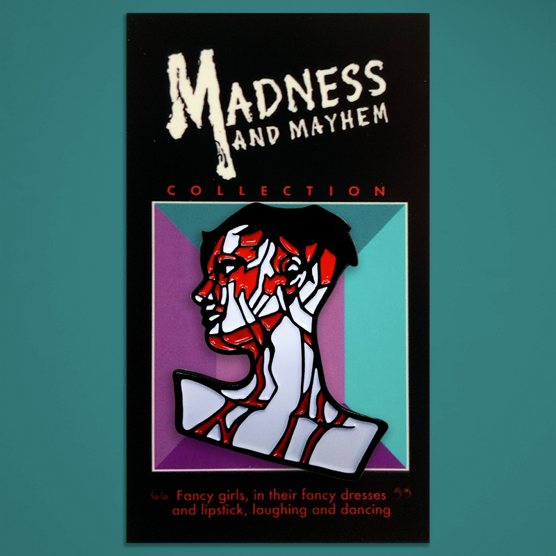 "Madness and Mayhem - ""Mannequin"" Enamel Pin"
