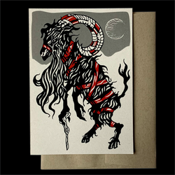 Greeting Card—Jul Goat