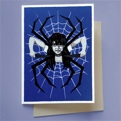 "Greeting Card—Inspired by ""Spider Baby"""