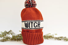 Load image into Gallery viewer, Witch Knit Hat