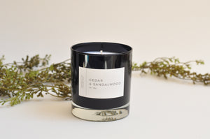 Cedar & Sandalwood Candle