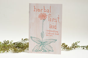 Herbal First Aid Zine