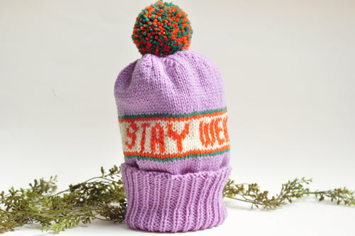 Stay Weird Knit Hat