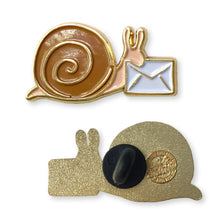 Load image into Gallery viewer, Snail Mail Enamel Pin