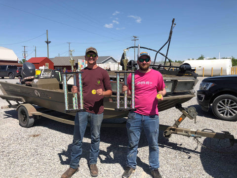Bowfishing winners