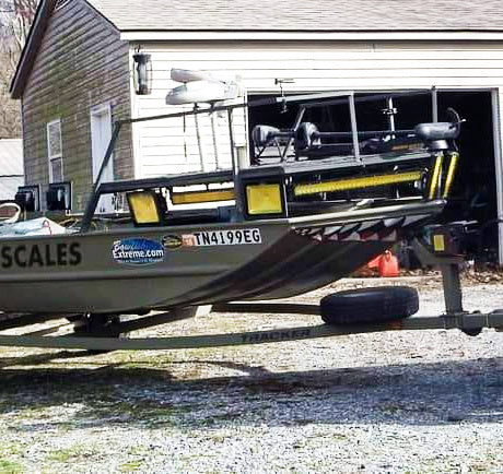 Bowfishing deck