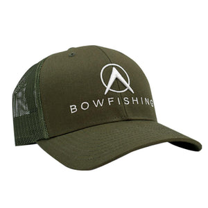 Bowfishing Snapback Hat Hat Loxley Bowfishing Green/Green