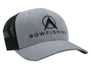 Bowfishing Snapback Hat Hat Loxley Bowfishing Grey/Black