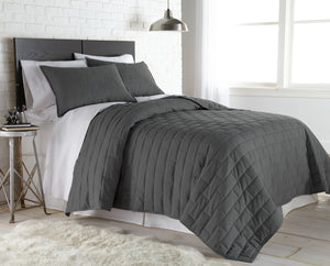 Foundations of a Designer Bedroom: The Brickyard Collection Quilt Set