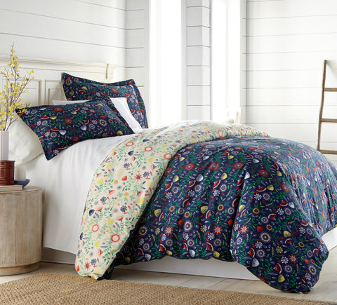 Boho Bloom Comforter Set by Southshore Fine Linens