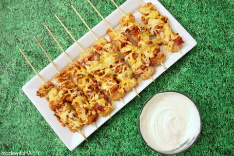 Super Bowl party snacks tater tots