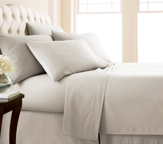 Vilano Springs – Extra Deep Sheet Set in Bone Color