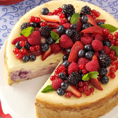 Cheesecake with Fruit