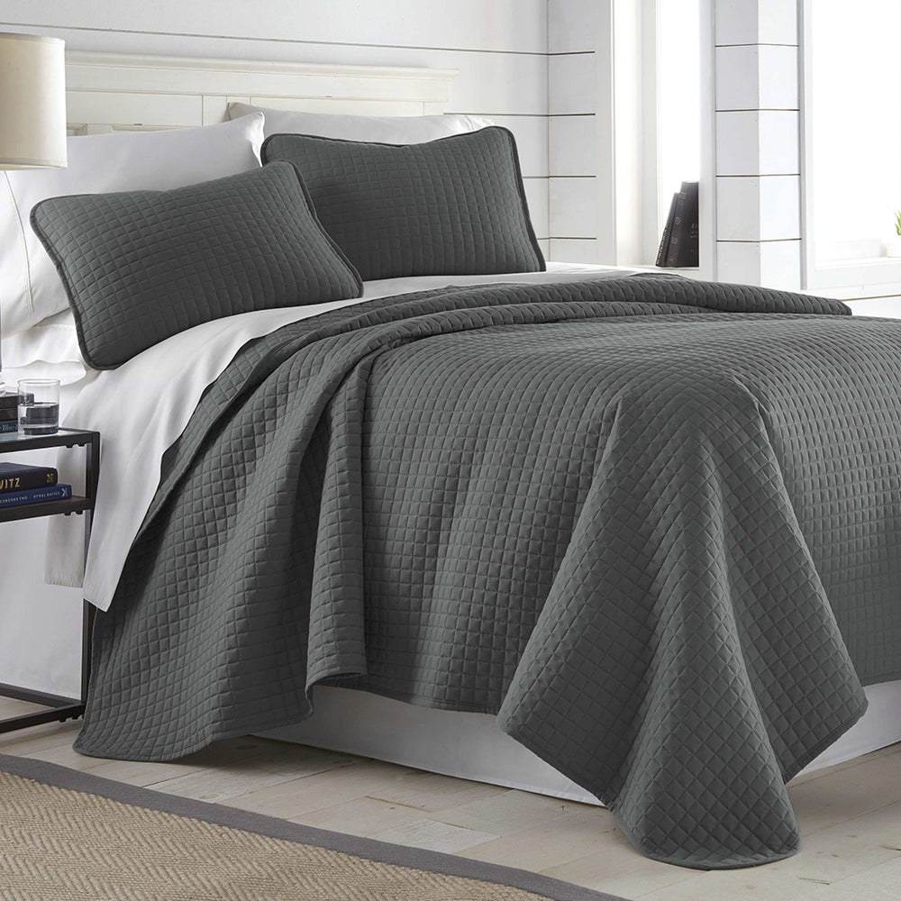 Vilano Quilt Set in Slate