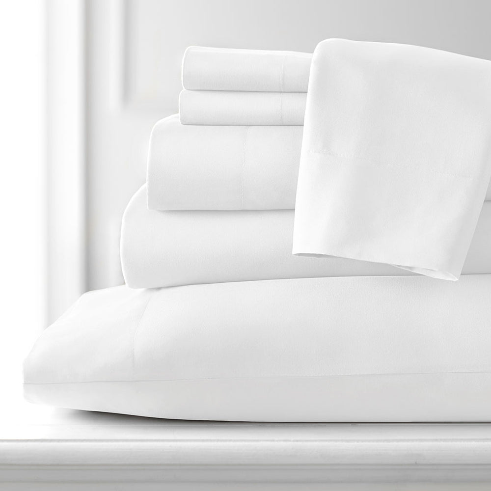 Vilano 6pc sheet set in white