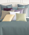 Vilano Decorative Quilted Shams add dimension and elegant visual interest to your bed.