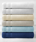 Experience true, plush luxury with our soft 100% combed cotton bath towels.