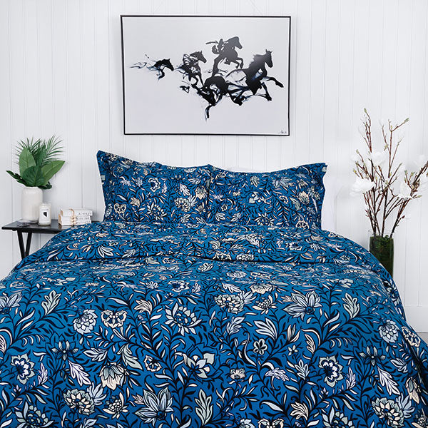 Blooming Blossoms Duvet Cover Set
