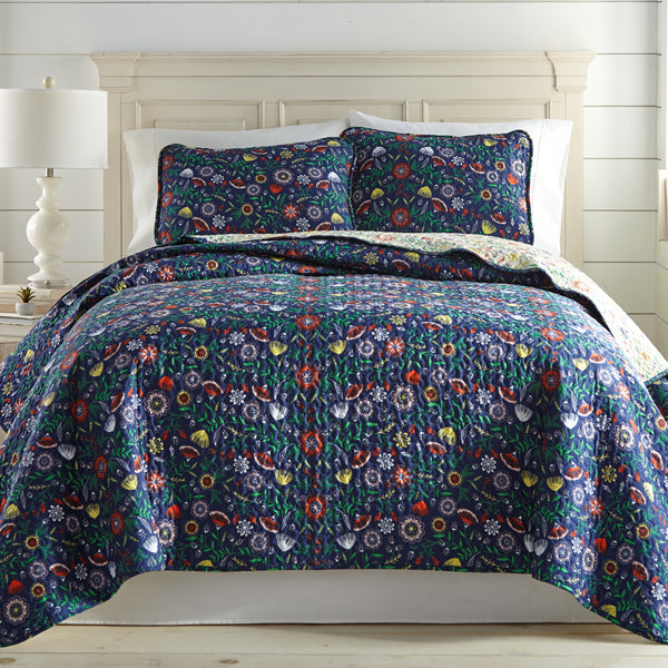 Boho-Bloom-Quilt-and-Sham-Set