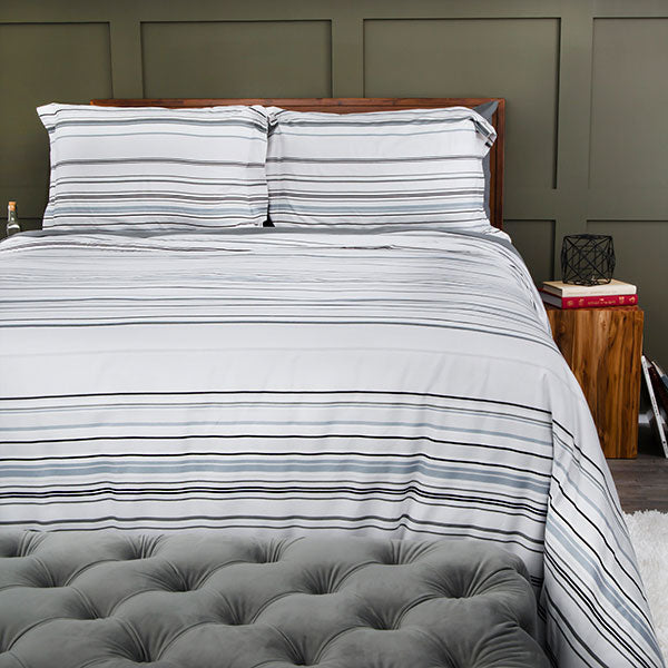Coastal Stripes Duvet Cover Set
