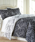 The Winterbrush collection features a pleasing botanical print, perfect for adding distinctiveness and comfort to any bedroom.