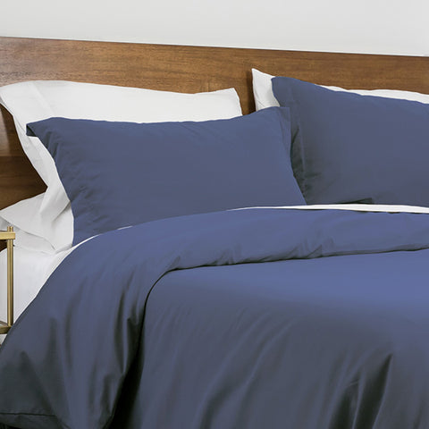100 GSM Duvet Cover in Dark Blue
