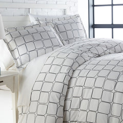 Tilted Tiles Duvet Cover