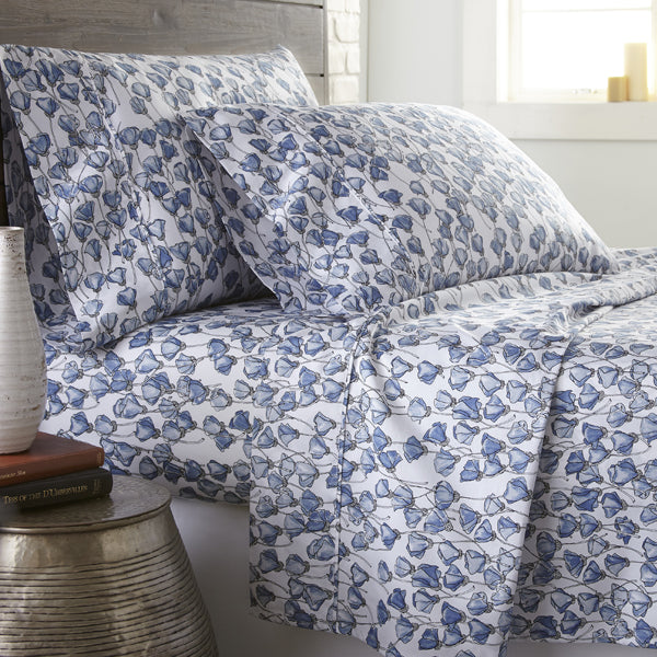 blue forevermore sheet set