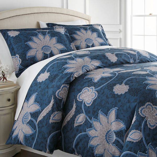 grand floral duvet bedroom set
