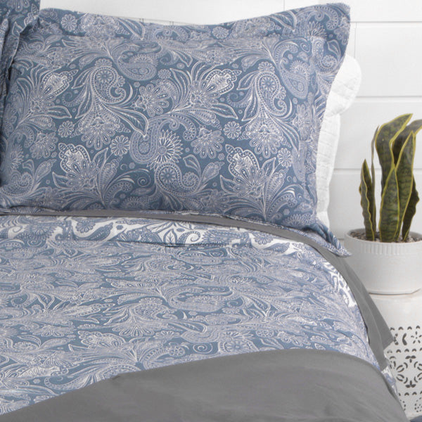 Perfect Paisley Reversible Comforter Set
