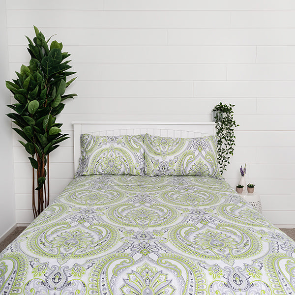 pure melody sheet set in green