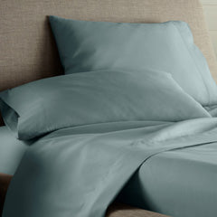 teal solid color pillowcases
