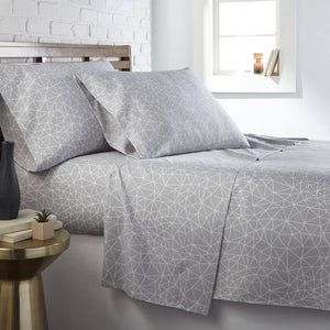 Geometric Maze Luxurious & Modern Sheet Sets by Vilano Choice Collection
