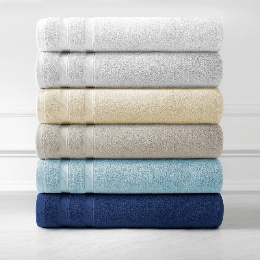 Classic Combed Cotton Soft and Luxury Towel Set by Southshore Fine Linens