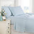 Percale Sheet Set in Blue