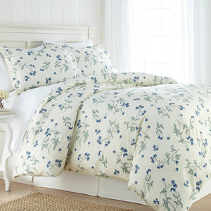 Soft Off White Myosotis Briteyarn Cotton Duvet Cover and Sham Set by Southshore Fine Linens Main Image