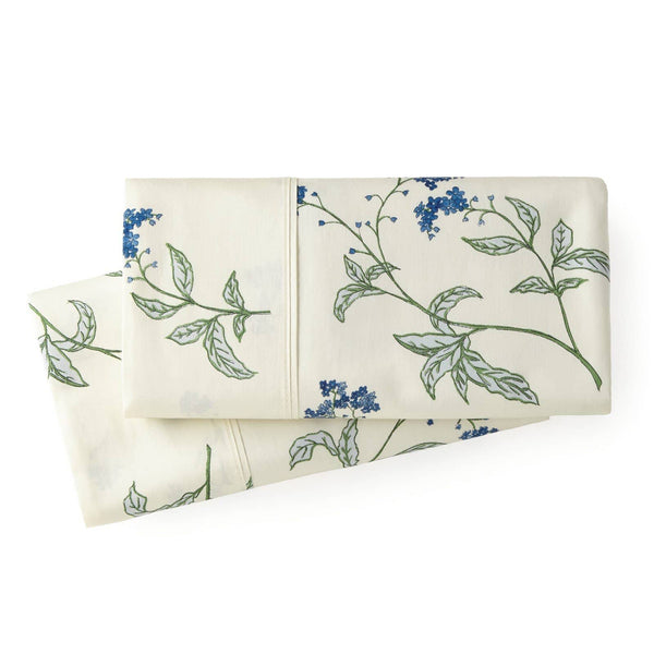 Soft Off White Myosotis Briteyarn Cotton Pillow Cases by Southshore Fine Linens Main Image