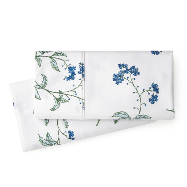 Soft White Myosotis Briteyarn Cotton Pillow Cases by Southshore Fine Linens Main Image