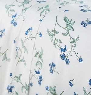 Soft White Myosotis Briteyarn Cotton Sheet and Pillowcase Set by Southshore Fine Linens Image 3