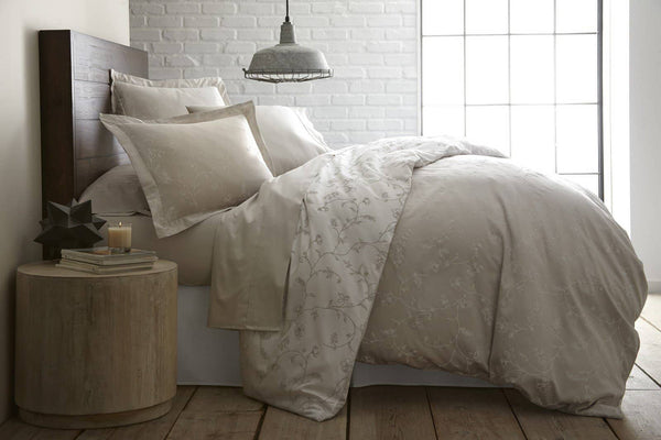 Sweet Brier Cotton Sateen Soft Sand Comforter and Sham set by Southshore Fine Linens Main Image
