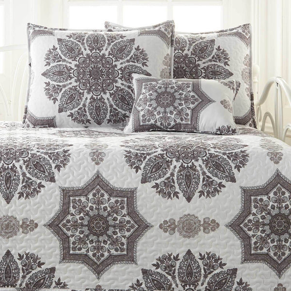 Infinity Daybed Bedding 6-Piece Set in Grey