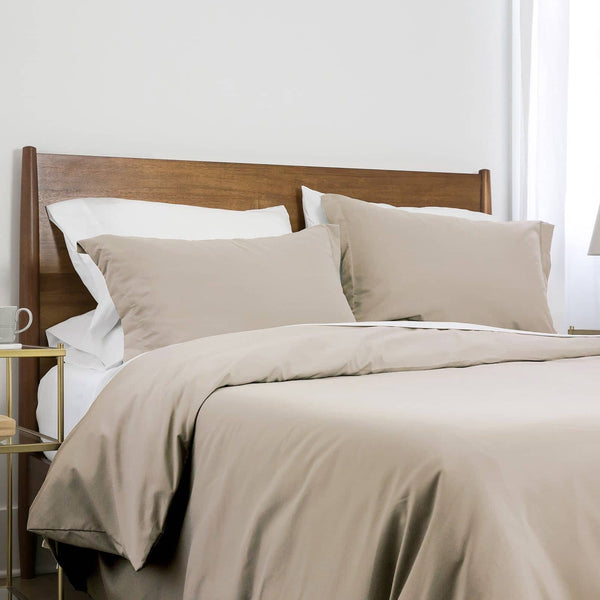 Southshore Basics Ultra-Soft and Comfortable Duvet Cover Set in Bone