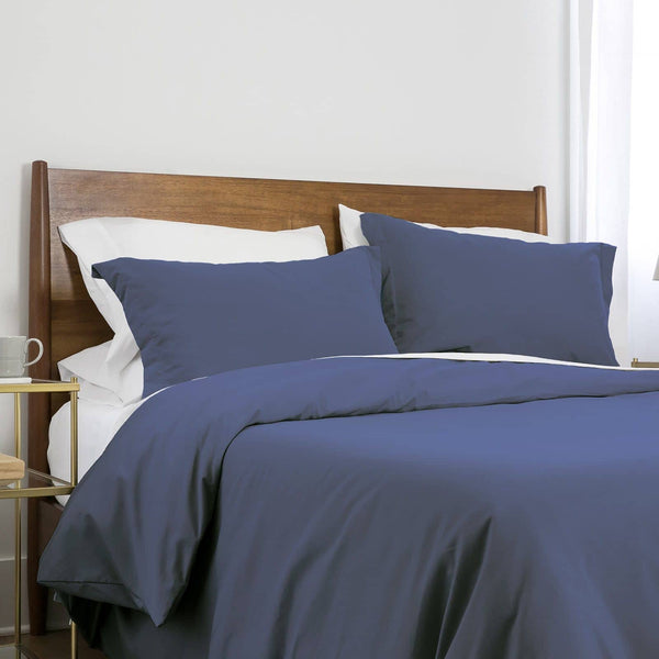 Southshore Basics Ultra-Soft and Comfortable Duvet Cover Set in Denim