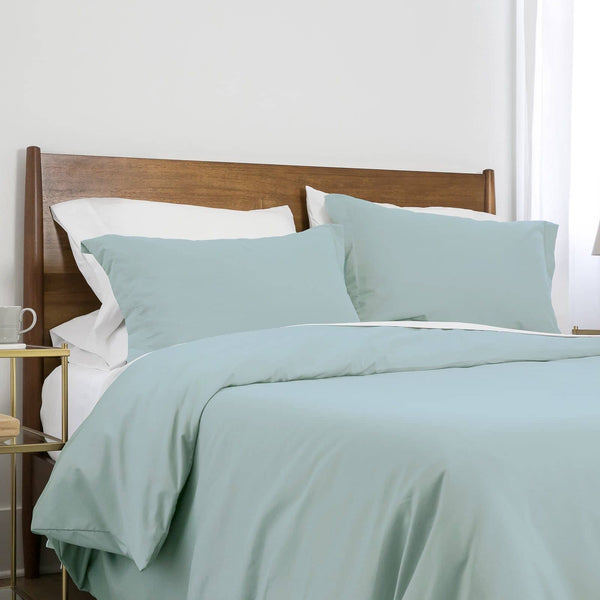 Southshore Basics Ultra-Soft and Comfortable Duvet Cover Set in Sky Blue