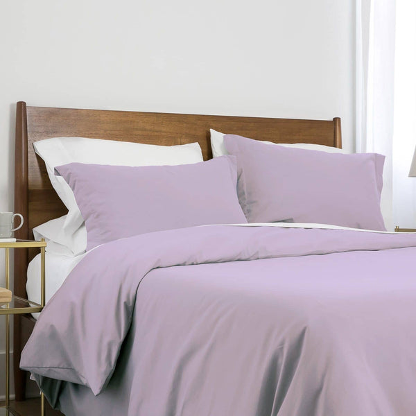 Southshore Basics Ultra-Soft and Comfortable Duvet Cover Set in Lilac