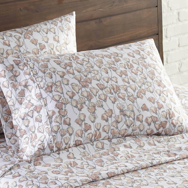 Forevermore 100% Cotton Sateen Pillow Cases in Blush