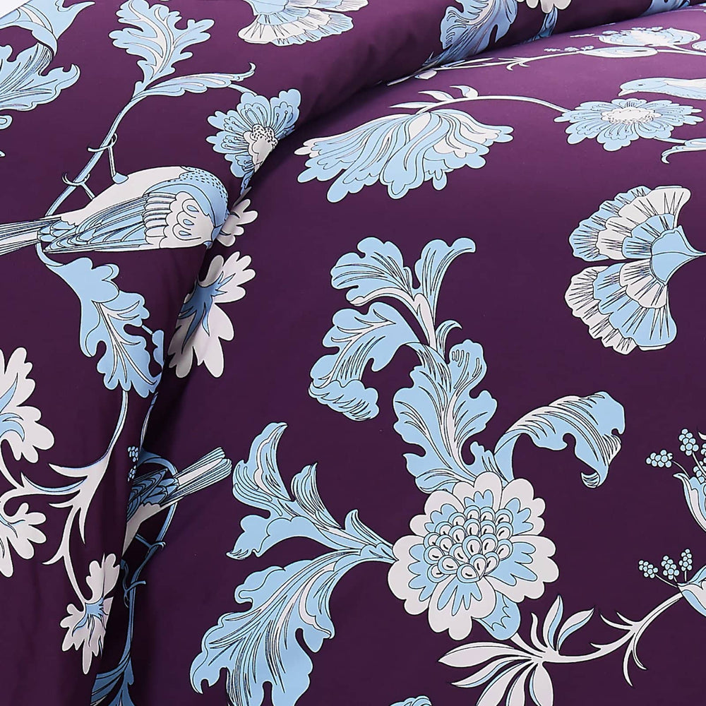 Early Spring Duvet Cover in Purple