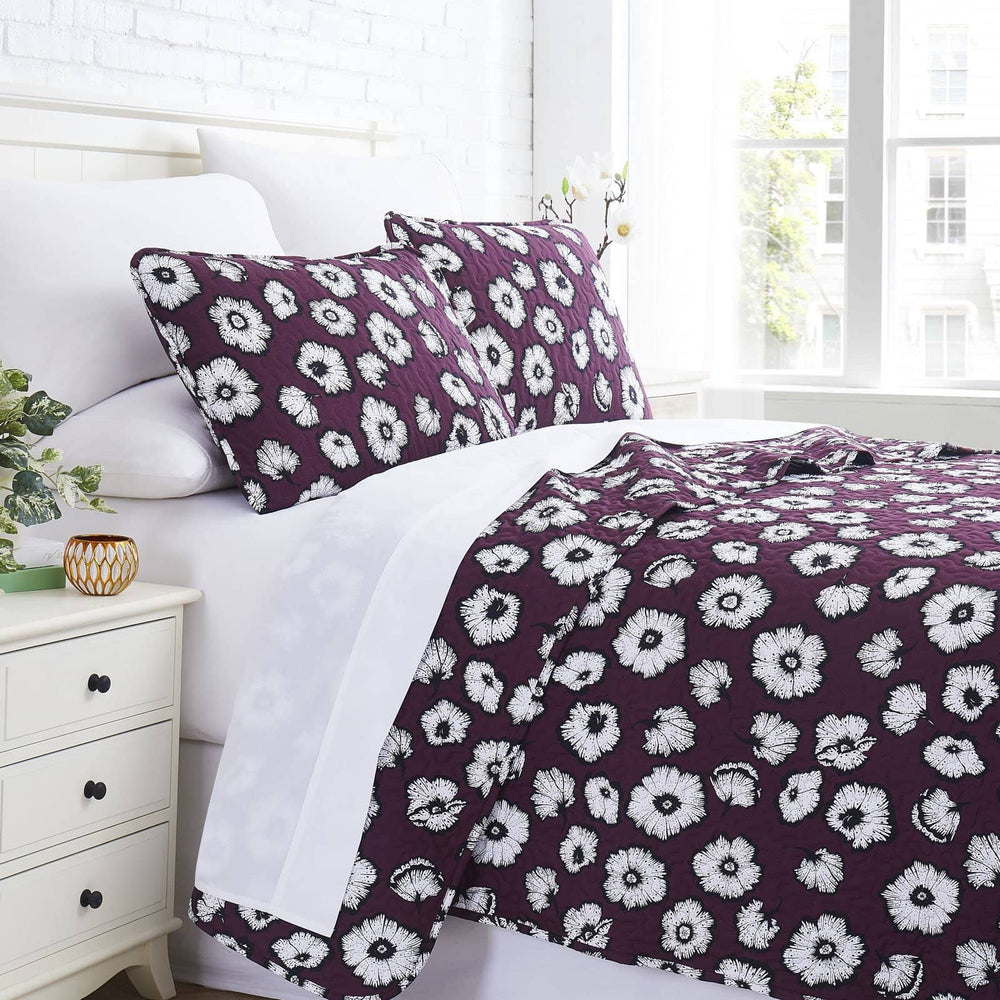 Essence Quilt Set in Purple